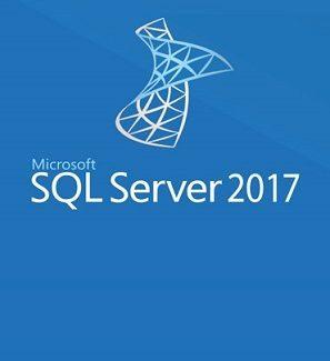 licencia sql server 2017